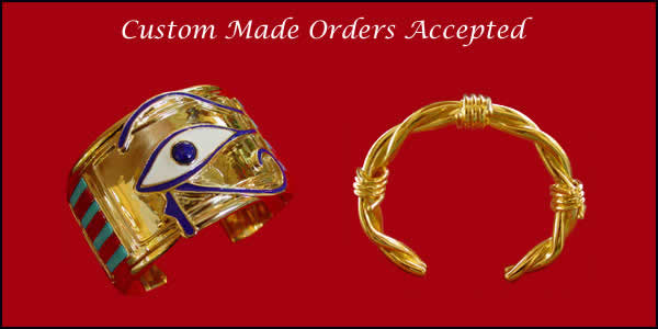 custom made gold bracelets
